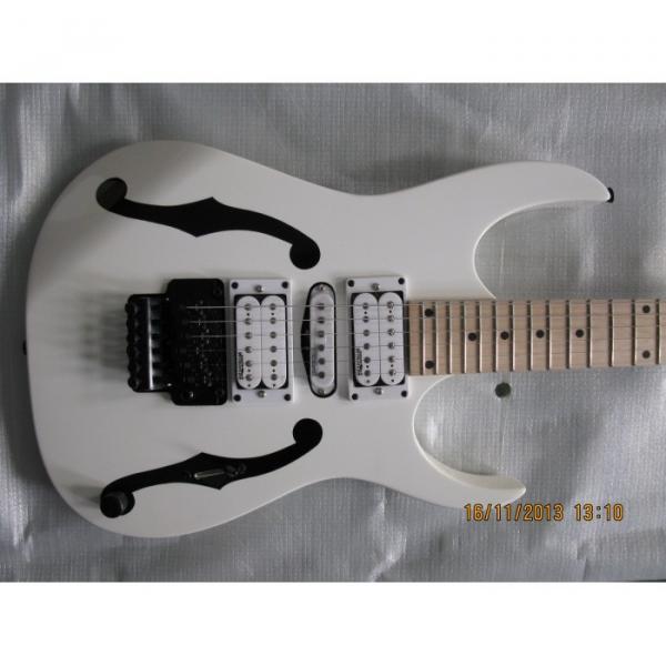 Custom Shop Paul Gilbert Jem 7 White Electric Guitar #1 image