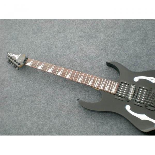 Custom Shop Paul Gilbert Ibanez Black Electric Guitar #1 image