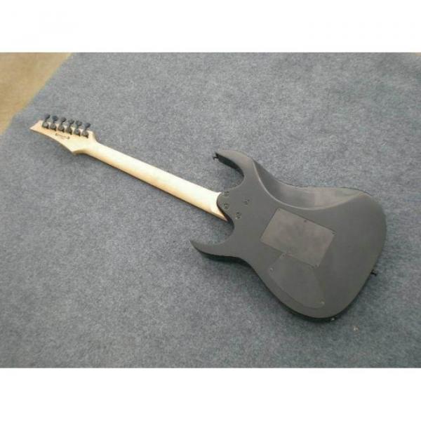 Custom Shop Paul Gilbert Ibanez Black Electric Guitar #3 image