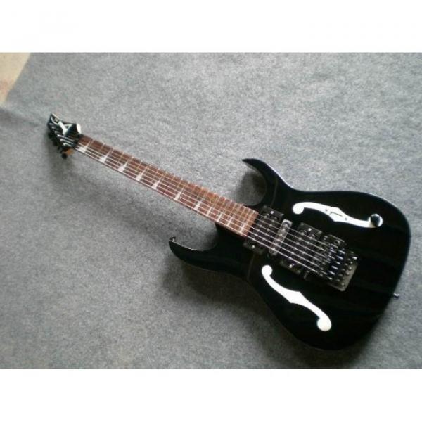 Custom Shop Paul Gilbert Ibanez Black Electric Guitar #5 image