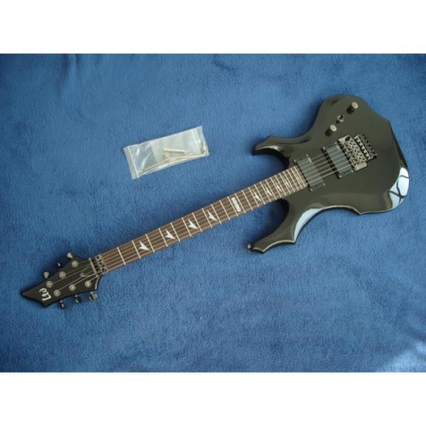 Custom Shop LTD Black Electric Guitar #3 image