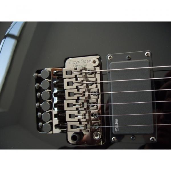 Custom Shop LTD Black Electric Guitar #4 image