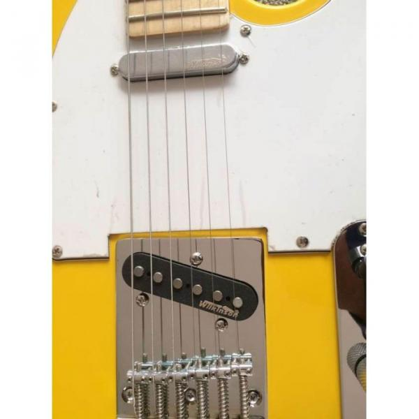Custom Shop Monaco Yellow Telecaster Danny Gatton Electric Guitar #2 image