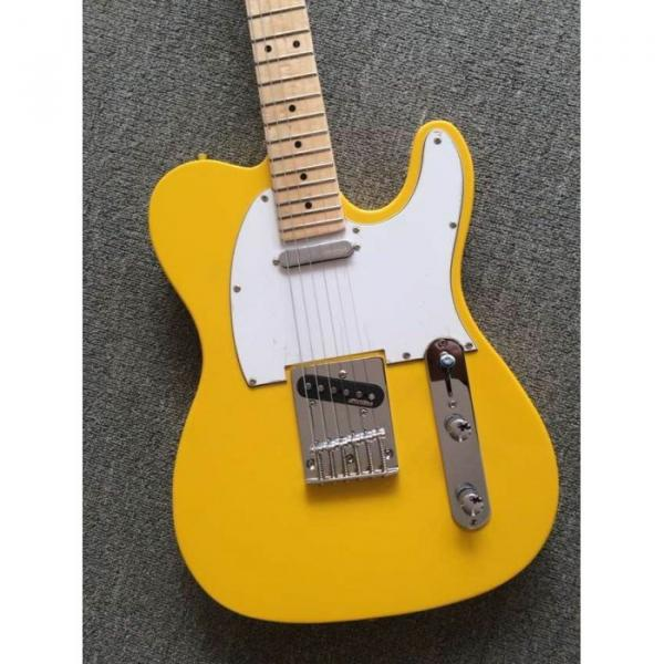 Custom Shop Monaco Yellow Telecaster Danny Gatton Electric Guitar #4 image
