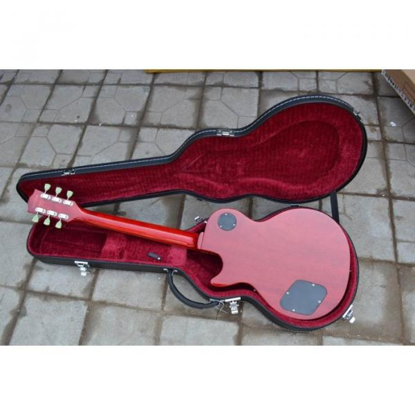 Custom Shop LP Sunburst Maple Top Electric Guitar #3 image
