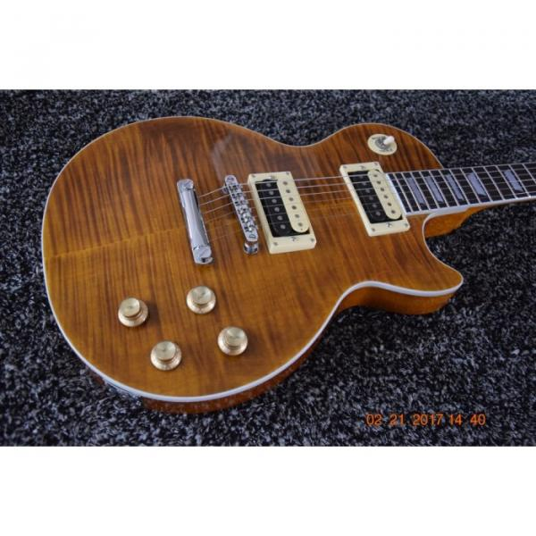 Custom Shop LP Standard Slash Heritage Flame Maple Top Electric Guitar #1 image