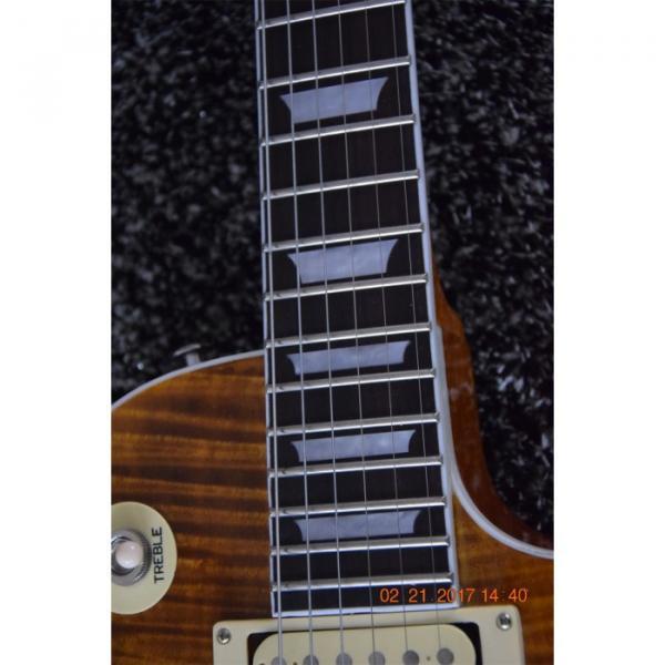 Custom Shop LP Standard Slash Heritage Flame Maple Top Electric Guitar #2 image