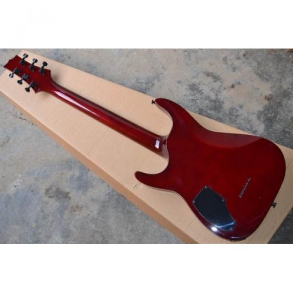 Custom Shop LTD EC 1000 Wine Red Electric Guitar #2 image