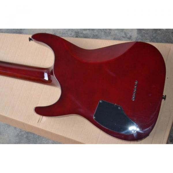 Custom Shop LTD EC 1000 Wine Red Electric Guitar #3 image