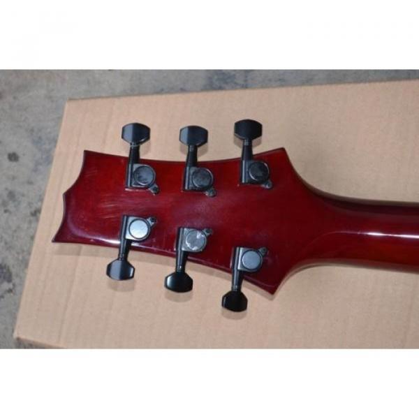 Custom Shop LTD EC 1000 Wine Red Electric Guitar #4 image