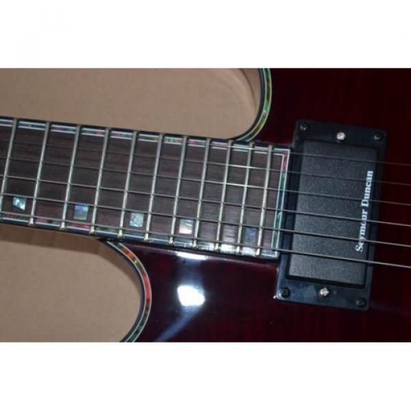 Custom Shop LTD EC 1000 Wine Red Electric Guitar #5 image