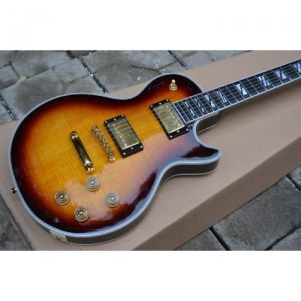 Custom Shop LP Supreme TobaccoBurst Electric Guitar #2 image