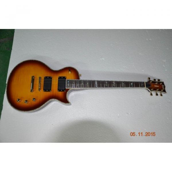 Custom Shop LTD Deluxe ESP Tobacco Honey Electric Guitar #1 image