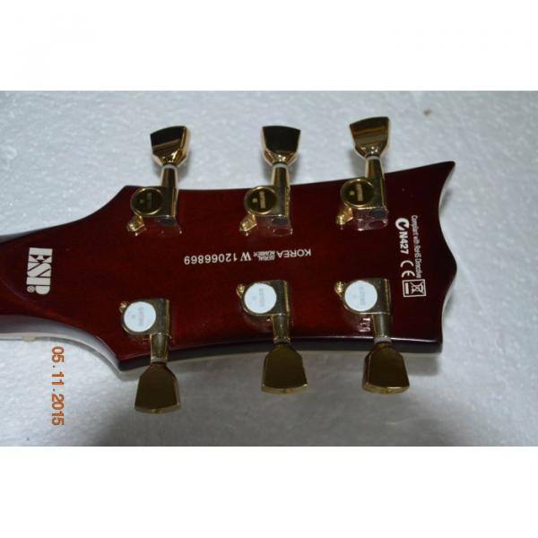 Custom Shop LTD Deluxe ESP Tobacco Honey Electric Guitar #2 image