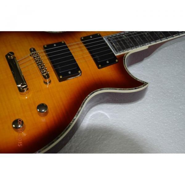 Custom Shop LTD Deluxe ESP Tobacco Honey Electric Guitar #3 image