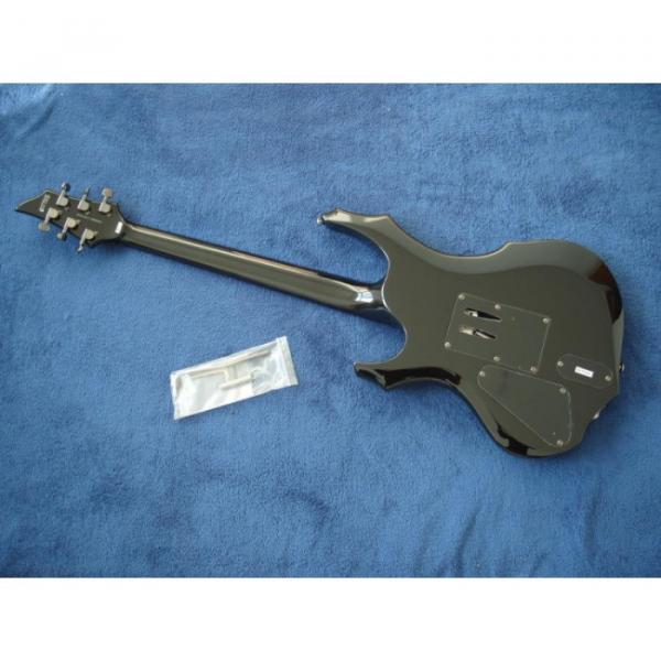 Custom Shop LTD Black Electric Guitar #2 image