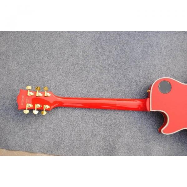 Custom Shop LP Red Flag 04 Confederate Electric Guitar #2 image