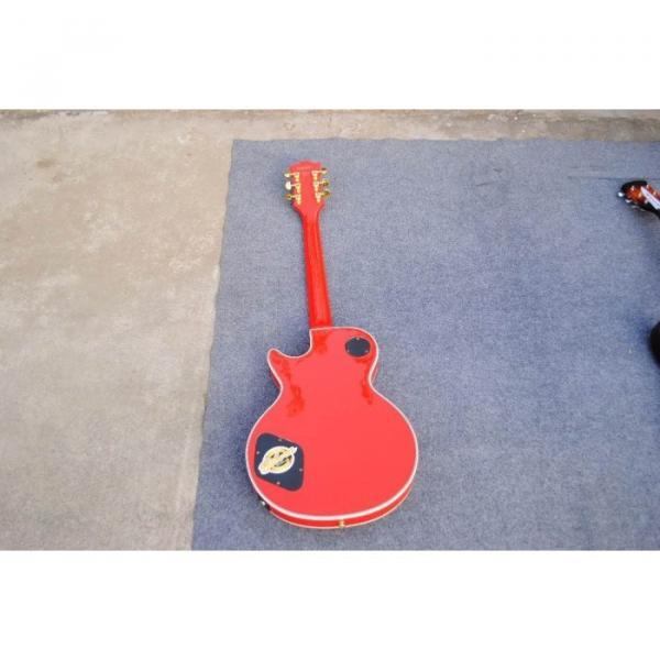 Custom Shop LP Red Flag 04 Confederate Electric Guitar #4 image