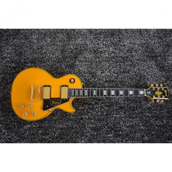 Custom Shop LP Randy Rhoads TV Yellow Electric Guitar #1 image