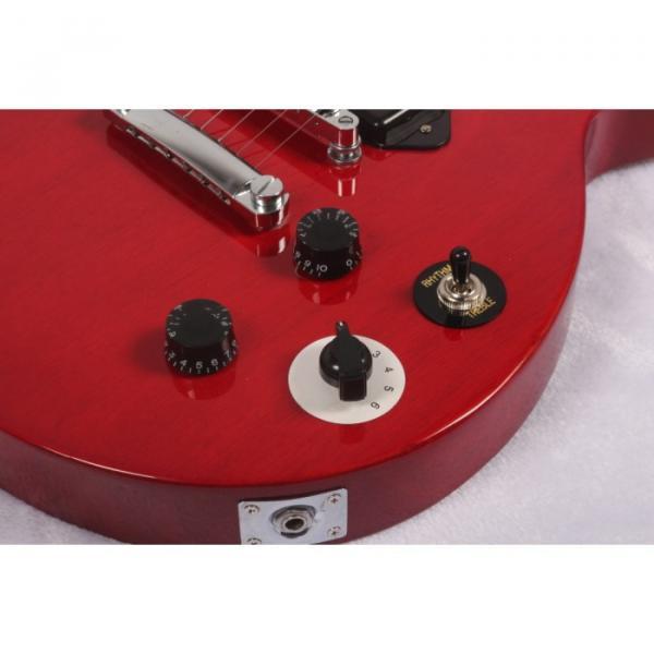 Custom Shop LP Red P90 Pickups Electric Guitar #5 image