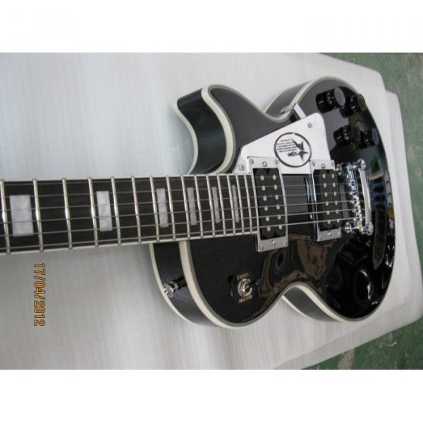 Custom Shop LP Black Electric Guitar #4 image