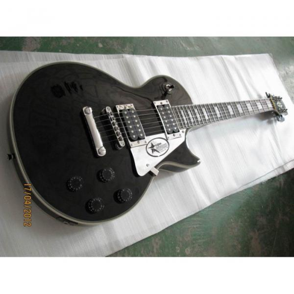 Custom Shop LP Black Electric Guitar #5 image