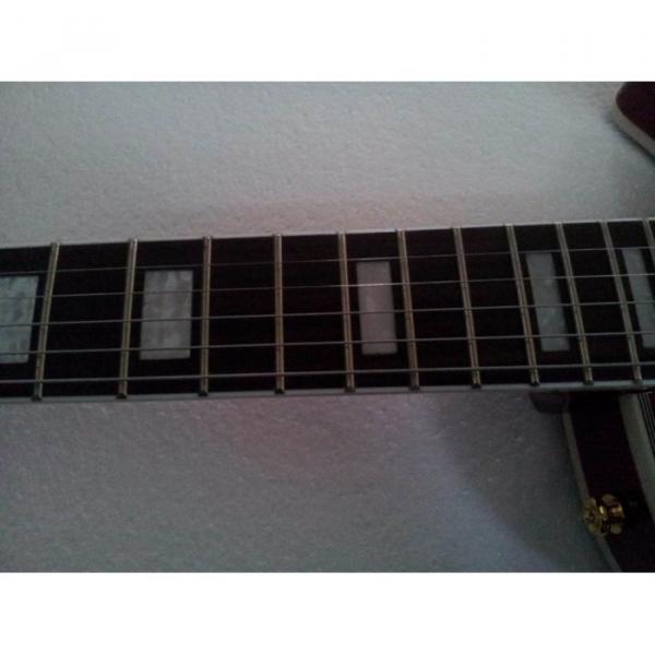 Custom Shop LP 1959 Floyd Vibrato Sunset Electric Guitar #3 image