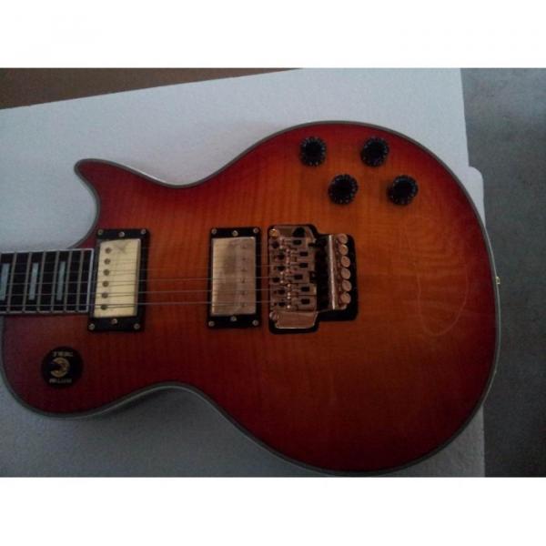 Custom Shop LP 1959 Floyd Vibrato Sunset Electric Guitar #4 image