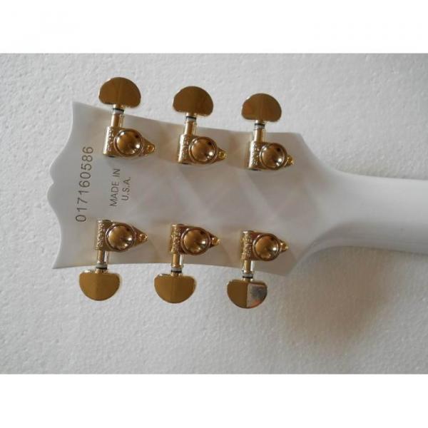 Custom Shop guitarra PEarl White Ebony Fretboard Electric Guitar #2 image