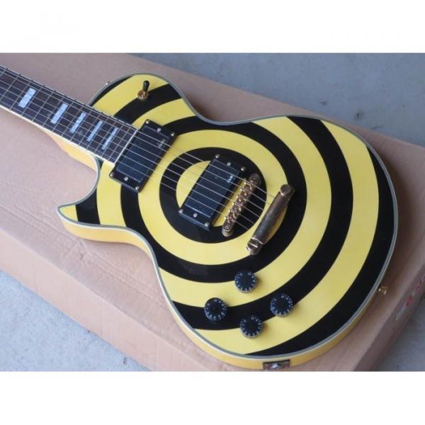 Custom Shop Left Handed Zakk Wylde Bullseyes Electric Guitar #1 image