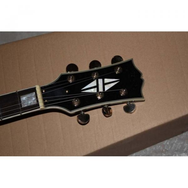 Custom Shop Left Handed Black ES335 ES 335 LP Electric Guitar #3 image