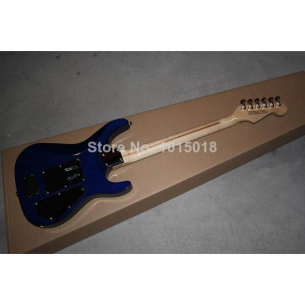 Custom Shop Left Hand Jackson SL2H Soloist Blue Ripples Electric Guitar #5 image