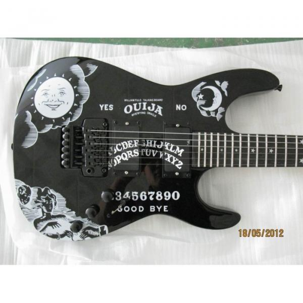 Custom Shop KH2OUIJA Kirk Hammett Ouija Black Opera Electric Guitar #1 image