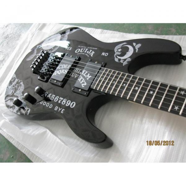 Custom Shop KH2OUIJA Kirk Hammett Ouija Black Opera Electric Guitar #4 image