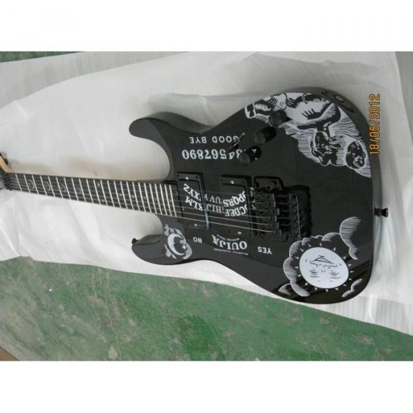 Custom Shop KH2OUIJA Kirk Hammett Ouija Black Opera Electric Guitar #5 image