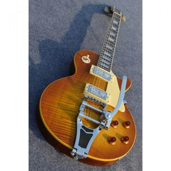 Custom Shop Joe Perry Boneyard Flame Maple Top Electric Guitar #1 image