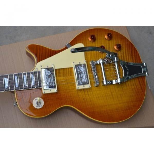 Custom Shop Joe Perry Boneyard Flame Maple Top Electric Guitar #4 image