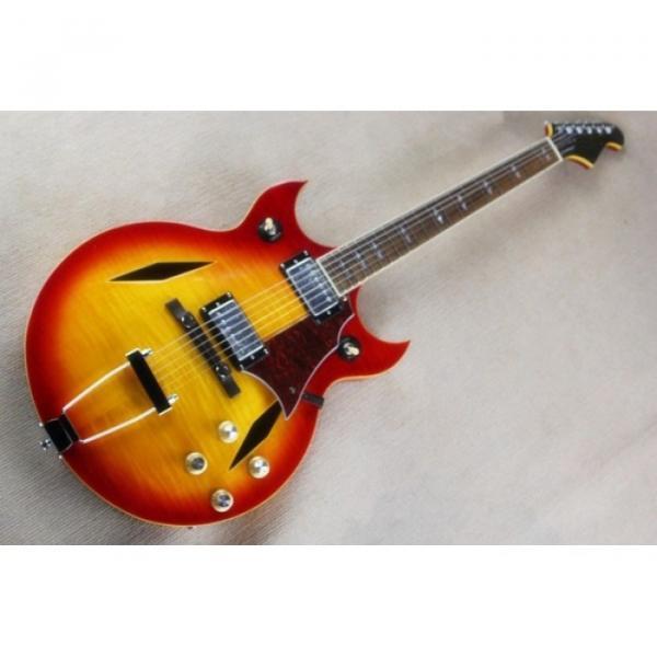 Custom Shop Johnny A Signature Cherry Red Electric Guitar #1 image