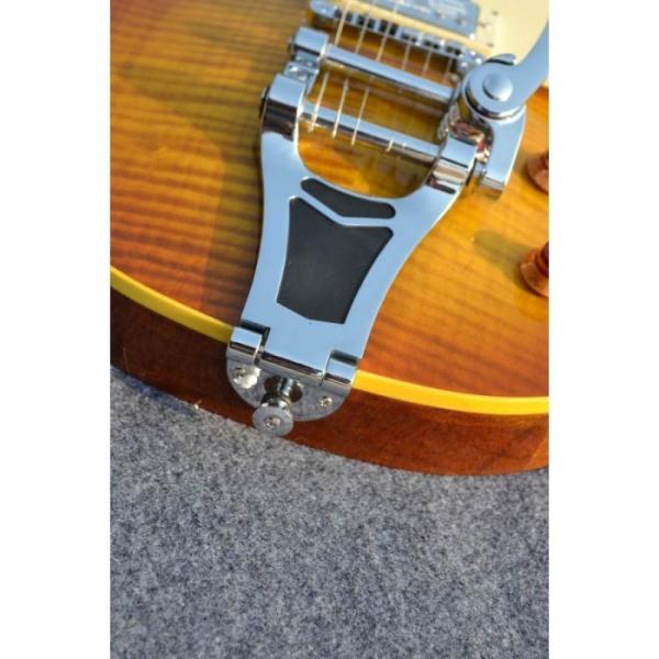 Custom Shop Joe Perry Boneyard Flame Maple Top Electric Guitar #5 image