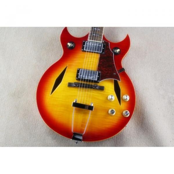 Custom Shop Johnny A Signature Cherry Red Electric Guitar #4 image