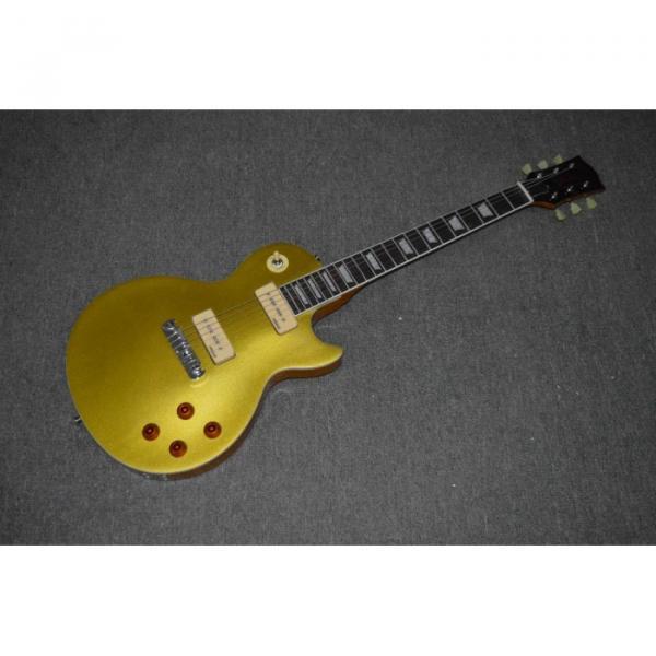 Custom Shop Joe Bonamassa LP Gold P90 Wrap Around Bridge Electric Guitar #1 image