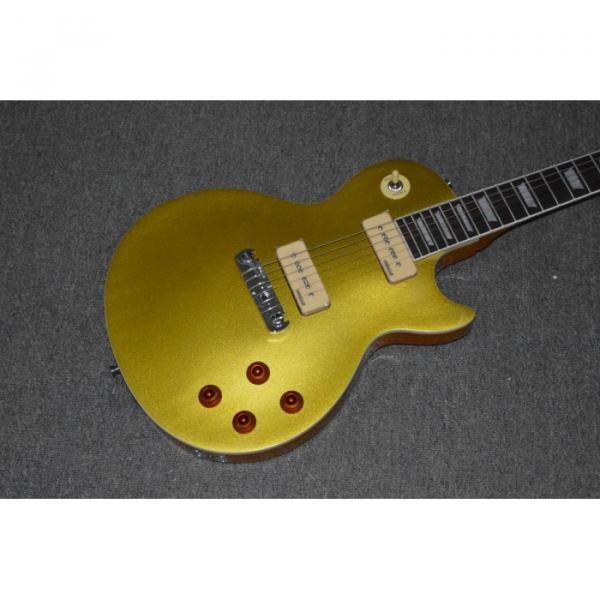 Custom Shop Joe Bonamassa LP Gold P90 Wrap Around Bridge Electric Guitar #4 image
