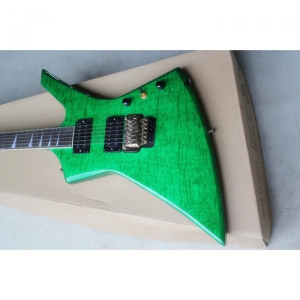 Custom Shop Jackson KE2 Green Electric Guitar #1 image
