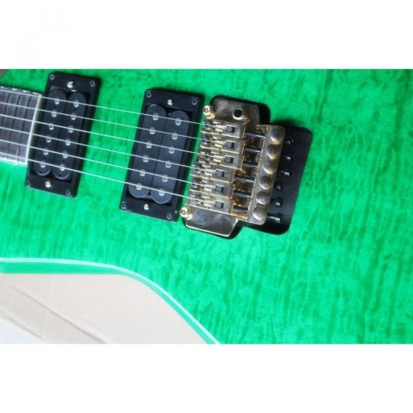 Custom Shop Jackson KE2 Green Electric Guitar #2 image