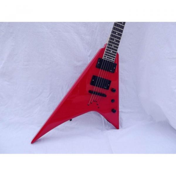 Custom Shop Jackson Red Electric Guitar #4 image