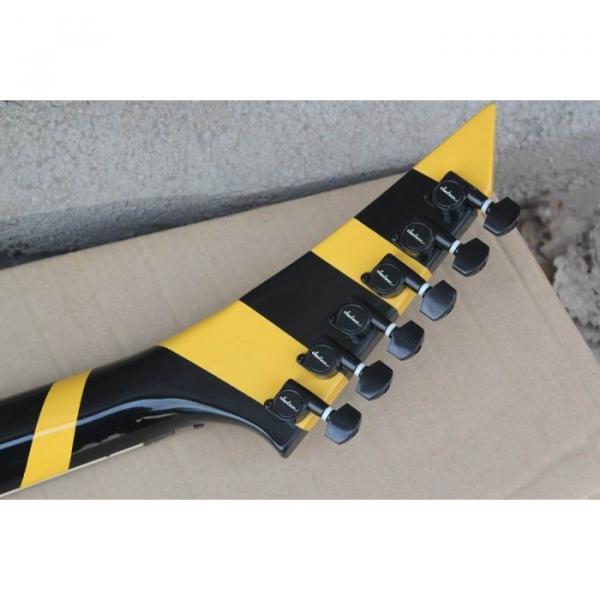 Custom Shop Jackson Randy Rhoads Yellow Stripe Electric Guitar #4 image