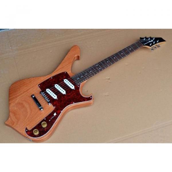 Custom Shop Ibanez Natural Gloss Paul Gilbert Electric Guitar #5 image
