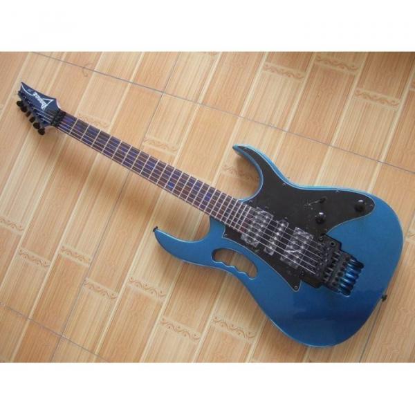 Custom Shop Ibanez Whale Blue Jem Electric Guitar #1 image