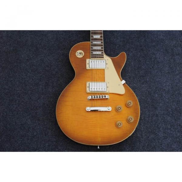 Custom Shop Honey Tiger Maple Top Electric Guitar #4 image