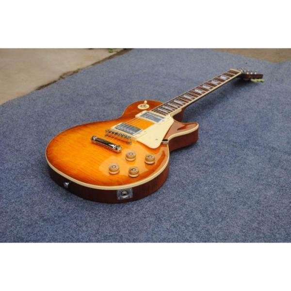 Custom Shop Honey Tiger Maple Top Electric Guitar #5 image